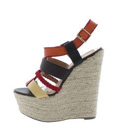 705e989afa3 Anastasia High Heel Wedge Sandal Wedge Sandals