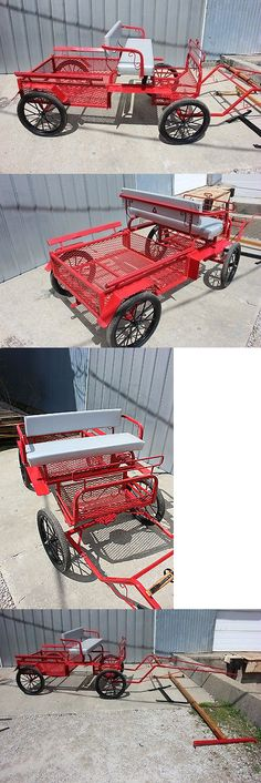 Other Driving Equipment 13376: Brand New Mini Or Pony Size 4 Wheel Utility Horse Drawn Carriage Shafts And Pole -> BUY IT NOW ONLY: $1800 on eBay!
