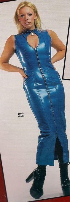 THE FEDERATION RUBBER LATEX LONG CHOKER DRESS BRAND NEW CROSS DRESS #THEFEDERATION #FETISH #Clubwear