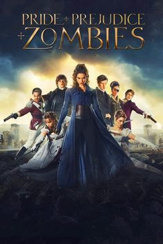 Lena Headey, Sam Riley, Matt Smith, Bella Heathcote, Douglas Booth and Lily James in Pride and Prejudice and Zombies Zombie Full Movie, I Zombie, Zombie Movies, Halloween Movies, Zombie Apocalypse, Halloween Party, Sam Riley, Douglas Booth, Streaming Movies