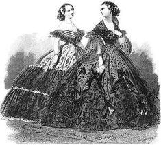 la moda en el siglo xix - Buscar con Google
