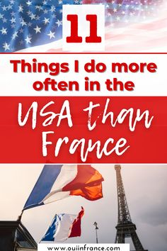 Are you a different version of yourself when you're home versus when you're abroad? What aspects of your home culture do you embrace and what feels most natural when you're abroad? I definitely find myself acting more American in the USA and more French in France. I've been settling in now to Florida life for two weeks and here are the things I find myself doing more in the USA than in France. #expat #reversecultureshock #livingabroad Culture Shock, Group Boards, France, French Language, Invite Your Friends, What Is Life About, Study Abroad, Feelings, French People