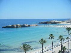 Monastir beach. Tunisia.
