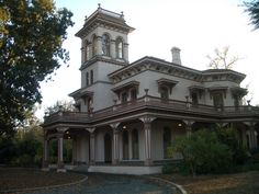 Bidwell Mansion, Chico, California. I went on the tour with my Mom when I went to Chico State. Very cool.