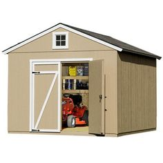 Heartland�Statesman Gable Engineered Wood Storage Shed (Common: 10-ft x 12-ft; Interior Dimensions: 10-ft x 12-ft)