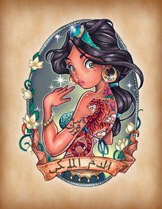 Jasmine Pin Up Princess
