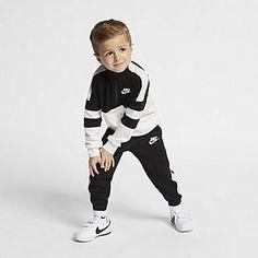 Nike Sportswear Windrunner Baby (12-24M) 2-Piece Set. Nike.com Young Boys Fashion, Toddler Boy Fashion, Little Boy Fashion, Toddler Outfits, Baby Boy Outfits, Toddler Boys, Kids Outfits, Kids Fashion, Cheap Fashion