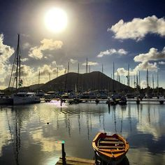 Rodney Bay Marina on this #hot Saturday afternoon in #SaintLucia.  #Photo Credit: Tim Byrne #stlucia #caribbean #destination #tropical #travel #vacation #escape #holidays #marina #beach #yacht #relax #escapewinter #photooftheday #picoftheday #travelphotography.