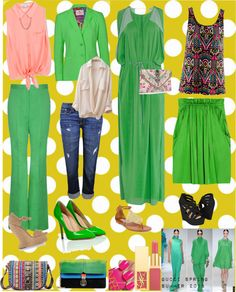 """""""Let's do Green.!"""" by silvanacasalins81 on Polyvore"""