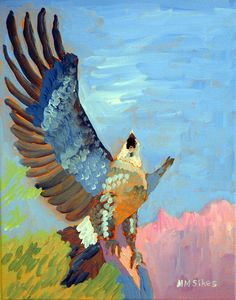 Mary Montague Sikes - Eagle Risin