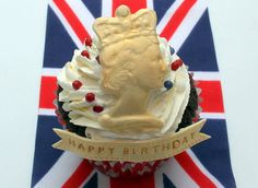 Queens birthday cupcakes 010 by Victorious Cupcakes, via Flickr