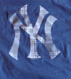 NWT New York Yankees NY T-Shirt Mens Medium #MLB #NewYorkYankees