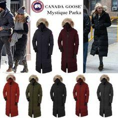 Canada Goose Jacket Ad CANADA GOOSE MYSTIQUE PARKA WOMEN Beige 3035L