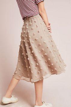 Slide View: 1: Marlow Textured Skirt
