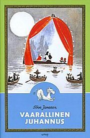 "Tove Jansson books, of which ""Vaarallinen juhannus"""