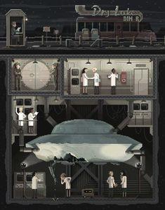 Les illustrations en pixel art de Octavi Navarro