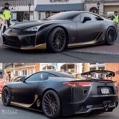 "Cars on Instagram: ""Matte black #Lexus #lfa 