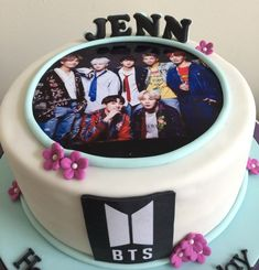 Beautiful Birthday Cakes, Purple Birthday, Themed Birthday Cakes, 13th Birthday, Themed Cakes, Bts Cake, Army Cake, One Layer Cakes, Bts Birthdays
