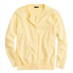 j crew jackie in moonlight yellow
