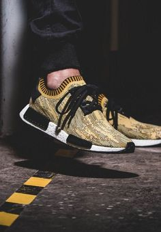 new style 3caad 89722 ADIDAS NMD Runner PK Yellow Camo    Follow FILET. for more street wear style