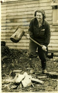 Mary Low - Women's Timber Corps Member