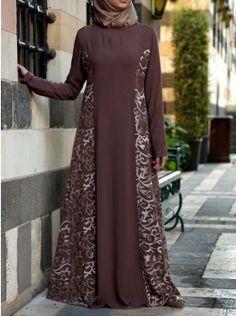 Islamic Clothing for Women on Sale Muslim Women Fashion, Modern Hijab Fashion, Batik Fashion, Abaya Fashion, Mode Abaya, Mode Hijab, Muslim Long Dress, Kalamkari Dresses, Hijab Evening Dress