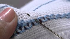 Hardanger Tutorial- Cutting and Pulling Out Threads Hand Embroidery Videos, Types Of Embroidery, Hand Embroidery Stitches, Embroidery Patterns, Hem Stitch, Satin Stitch, Monks Cloth, Swedish Weaving, Drawn Thread