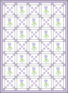 sunbonnet sue quilt | This is a great pattern, not only for a Sunbonnet Sue quilt, but just ...