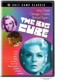 The Big Cube, starring Lana Turner, George Chakiris and Richard Egan, 1969 Norma Herrera, Lana Turner Movies, Warner Studios, George Chakiris, Bad Film, Generation Gap, Movie Guide, Top Movies, Peace And Love