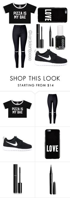 """#31"" by kardelentjeeee ❤ liked on Polyvore featuring WithChic, NIKE, Givenchy, Chanel, Marc Jacobs and Essie"