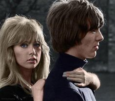 Pattie Boyd and George Harrison, 1965