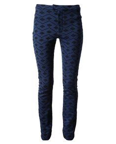 Thu Thu diamond patterned pants