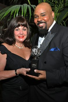 2014 Tony Awards Gala - Executive Director of The Broadway League Charlotte St. Martin and Tony winner James Monroe Iglehart attend the 68th Annual Tony Awards Gala at The Plaza Hotel on June 8, 2014 in New York City.   Credit: Shevett Studios