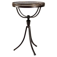 Metal and glass end table in a brass finish. Product: End table Construction Material: Metal, MDF and glass