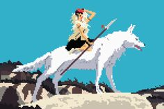 8-bit Studio Ghibli Art - Design - ShortList Magazine