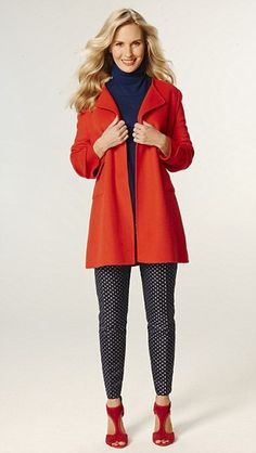 Brighten up your wardrobe with a pop of colour on rainy days...