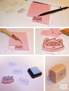 DIY. Proceso como crear un sello para estampar por todas partes!