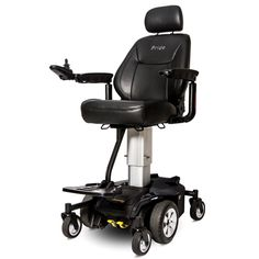 Check Out the Cool New Jazzy Air! This Power Chairs power-elevating seat raises  sc 1 st  Pinterest & The NEW Bruno American-made model PWC-2300 Mini Front Wheel Drive ...