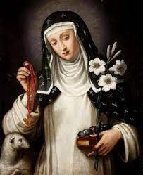 Dziewica i zakonnica. /20.04/ Saints, Montepulciano, St Agnes, Image, Catholic Saints, Canticles, Art Tutorials, Catholic Art, Archangels