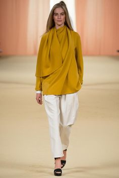 Hermès Spring 2015 Ready-to-Wear - Collection - Gallery - Look 1 - Style.com