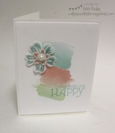 Weekly Deals! :: Confessions of a Stamping Addict Lorri Heiling Petite Petals, Happy Watercolor, Flower Shop This is a CASE of Alison Solven's card