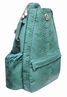 Reptilian Teal Small Sling Tennis Bag, found at Life Is Tennis!