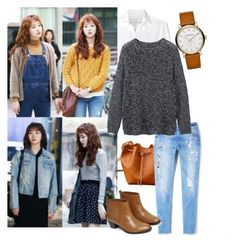 Hong Seol 2 by trace-y on Polyvore featuring polyvore, fashion, style, Toast, Frank & Eileen, MANGO, Warehouse, Marc Jacobs and clothing
