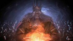 Gwyn Lord of Sunlight by Grey-Walker