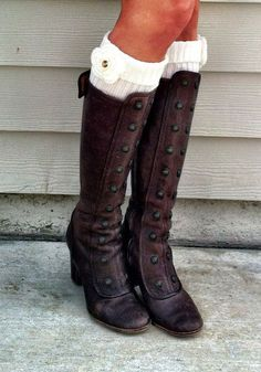 love these boots! and the socks are adorable too!