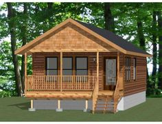 small one bedroom apartment floor plans Small Cabin Plans, Cabin House Plans, Log Cabin Homes, Small House Plans, House Floor Plans, Log Cabin Mobile Homes, Small Cabin Designs, Barn Homes, Apartment Floor Plans