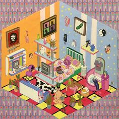 Illustrations, Illustration Art, Chris Ware, Wheres Wally, Character Drawing, Funny Art, Submission, Anime Stuff, Drawing Reference