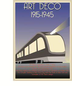Art Deco Posters | Art deco poster by Nmanstudios