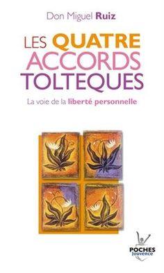 Les quatre accords toltèques : La voie de la liberté personnelle de Don Miguel Ruiz http://www.amazon.fr/dp/2883534616/ref=cm_sw_r_pi_dp_pRy8vb089GFGJ
