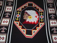 I am looking for a crochet pattern called INDIAN HEAD AFGHAN It is ...